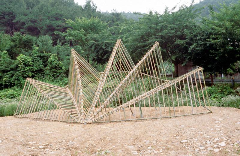 Brenda Oakes Fan Hide Pavilion 2004