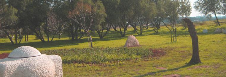 ארבורטום ותערוכת פסלי אבן קבועה