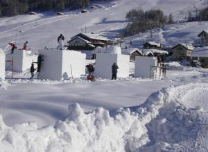 Livigno- start of work